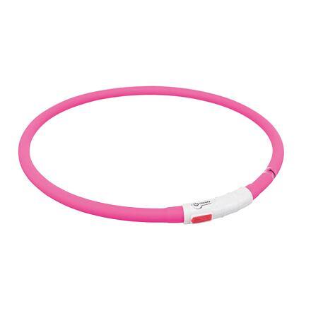 Flash USB svítící objek XS-XL 70 cm / 1 mm,  - růžová