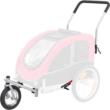 Přední kolo a držadlo k vozíku 12814, konverze na běhání
