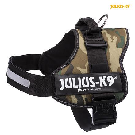 TRIXIE Julius-K9 silový postroj 3/XL 82-118 cm,  - maskáčová