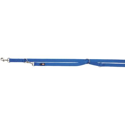 TRIXIE Vodítko PREMIUM prodlužovací 2m/20mm (M-L),  - královská modrá