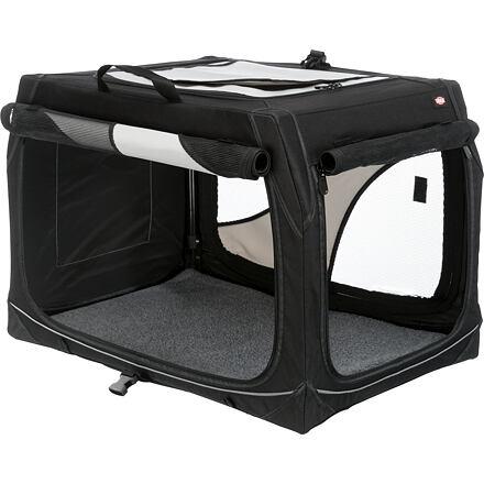 Trixie Transportní nylonový box Vario S 61x43x46 cm černo-šedý