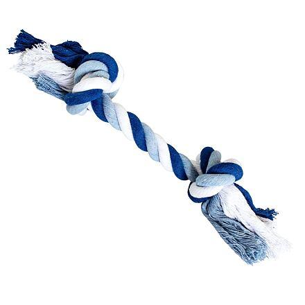 Uzel HipHop bavlněný 2  knoty 20 cm / 55 g tm.modrá, sv.modrá, bílá