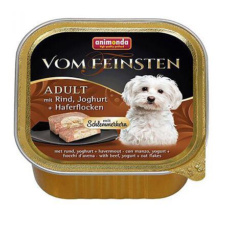 Animonda V.Feinsten CORE hovězí, jogurt + vločky pro psy 150g