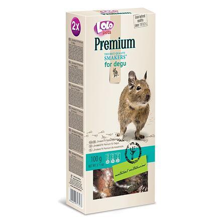 Trixie LOLO PREMIUM SMAKERS 2 klasy pro osmáky degu 100 g