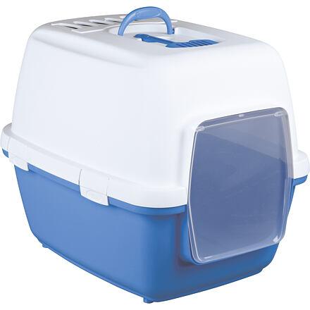 WC XAVI kryté s filtrem,dvířky a lopatkou 45x48x58cm modro/b