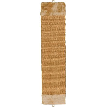 TRIXIE Škrábadlo nástěnné s plyšovým zakončením 15x62 cm,  - hnědé