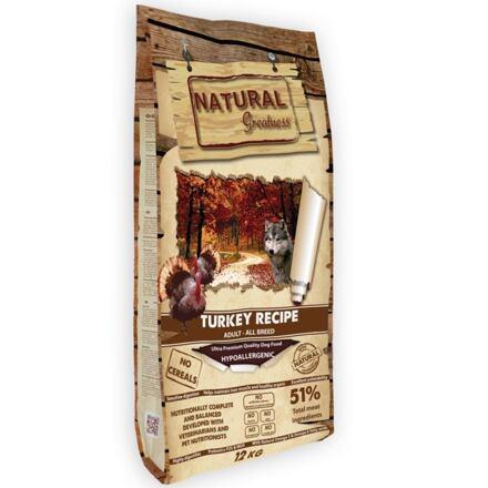 Natural Greatness Turkey Recipe All B/krůta,kachna,kuře/12kg