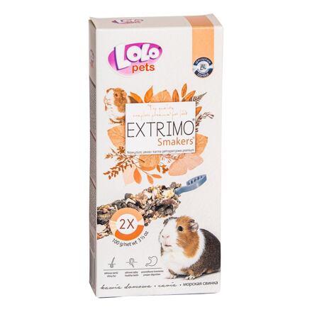 LOLO EXTRIMO SMAKERS tyčinky pro morčata 2ks/100 g