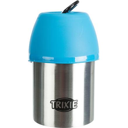 Trixie Láhev kovová s plastovou miskou 300 ml
