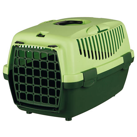 Trixie Transportní box CAPRI I. 32x31x48cm max.do 6kg,  - tmavě zelená/světle zelená