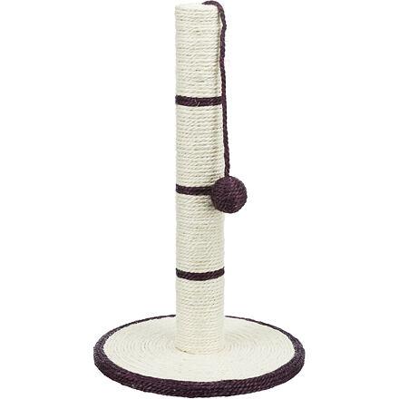 Sisalové škrábadlo s míčem 31x7x50cm