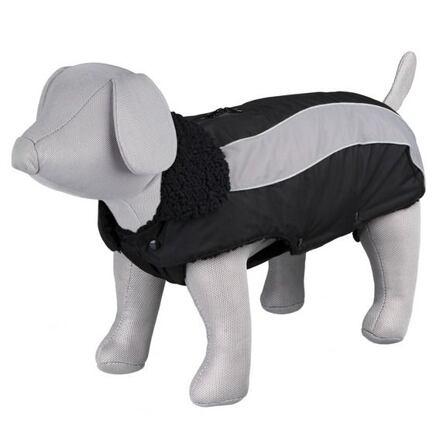 Trixie Zimní obleček MARNE černý, s průvlekem na vodítko XS 27 cm - DOPRODEJ