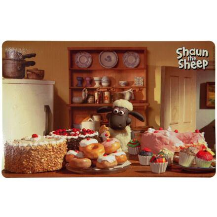 Ovečka Shaun prostírání pod misky, fotka Shaun pekař 44x28cm - DOPRODEJ