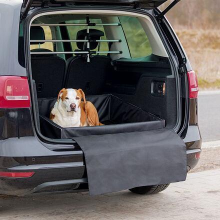 TRIXIE Pelech pro psa do zavazadlového prostoru 95x75 cm černý - DOPRODEJ