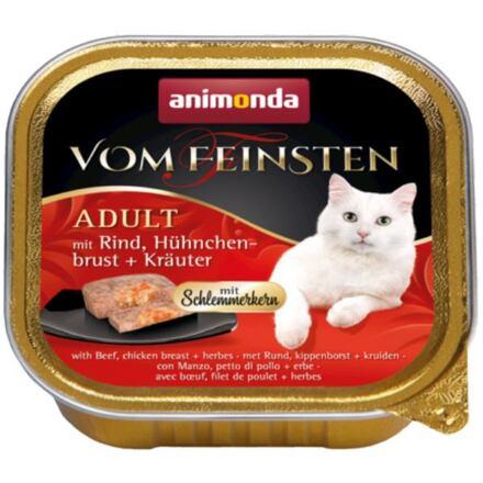 Animonda V.Feinsten CORE hovězí, kuřecí prsa + bylinky pro kočky 100g