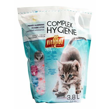 VITAPOL silicagel COMPLEX HYGIENE pro kočky 3,8 L