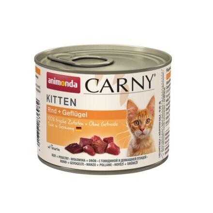ANIMONDA konzerva CARNY Kitten - hovězí, drůbeží 200g