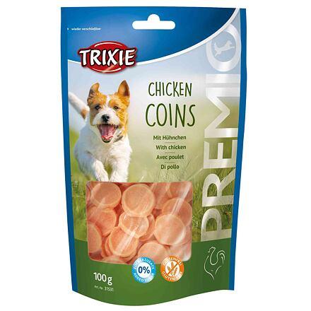 Trixie Premio CHICKEN COINS light - kuřecí mince 100g