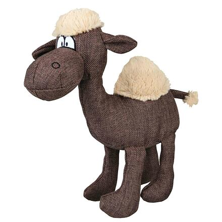 Plyšovo-látkový velbloud 31 cm - DOPRODEJ
