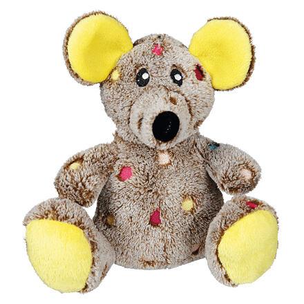 TRIXIE  Plyšová myš s puntíky 17 cm