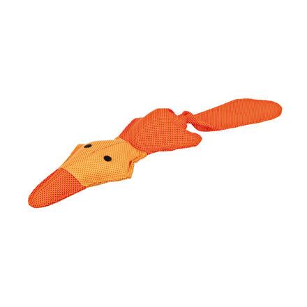 Trixie Plovoucí oranžová kačena se zvukem 50 cm