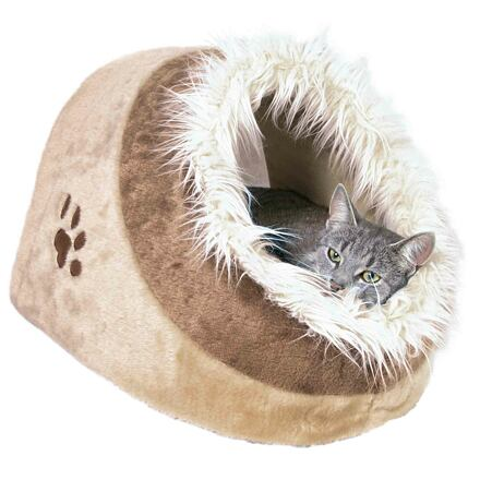 Trixie Pelíšek koule MINOU č.1  35x26x41cm,  - béžová/hnědá