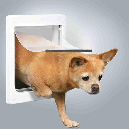 Trixie Průchozí dvířka pro psy XS-S dvoucestné 25 x 29 cm