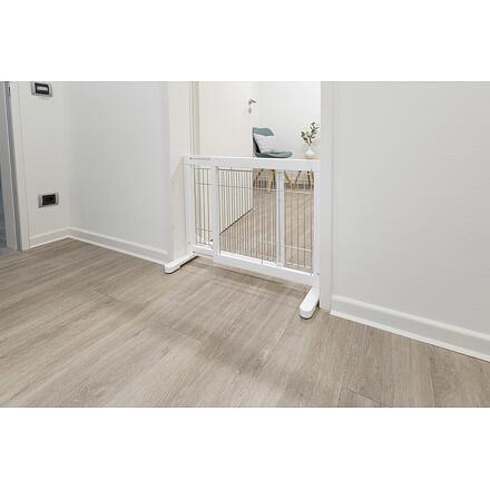 TRIXIE  Posuvná bariéra pro psy 65-108 x 61 x 31 bílá