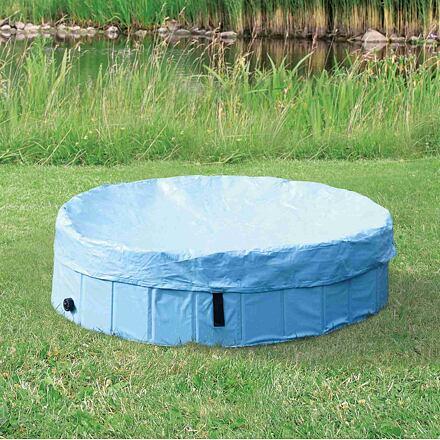 TRIXIE Ochranná plachta na bazén 80 cm kód 25180 sv.modrá