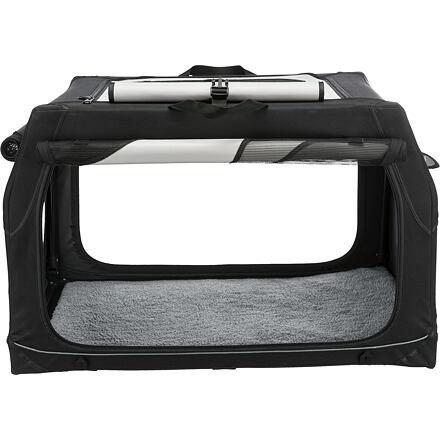 Trixie Transportní nylonový box Vario M 76x48x51 cm černo-šedý