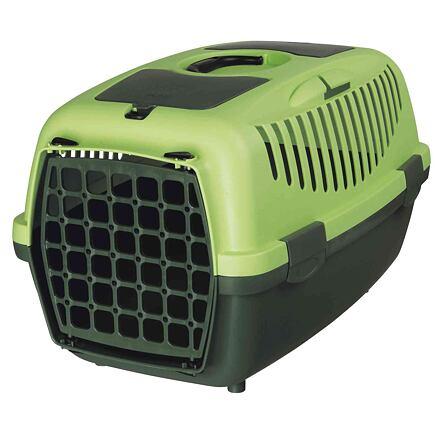 Trixie Transportní box CAPRI II 37x34x55cm max.do 8kg,  - tmavě zelená/světle zelená