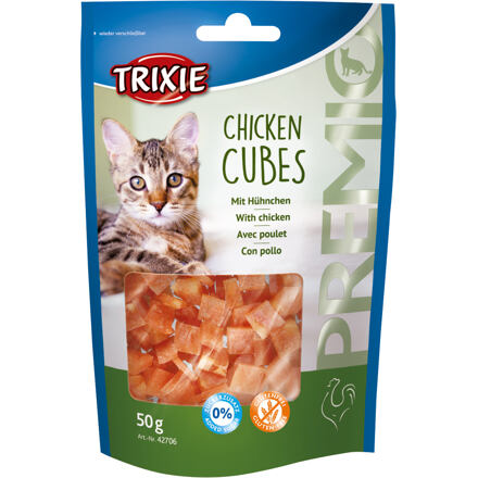 Trixie Premio CUBES - kuřecí kostičky 50 g