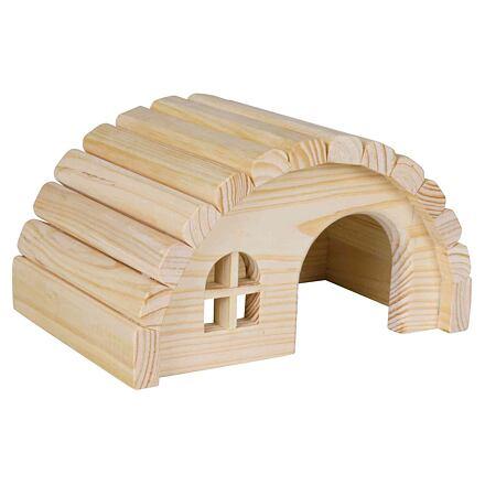 Trixie Dřevěné iglú pro myši a křečky 19x11x13 cm