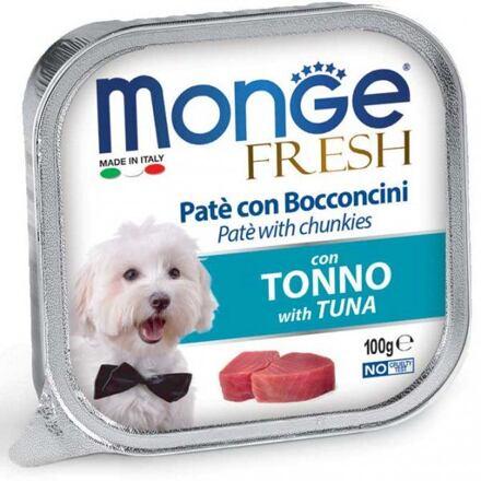 Monge MONGE FRESH - paštika a kousky s tuňákem 100 g pro psy