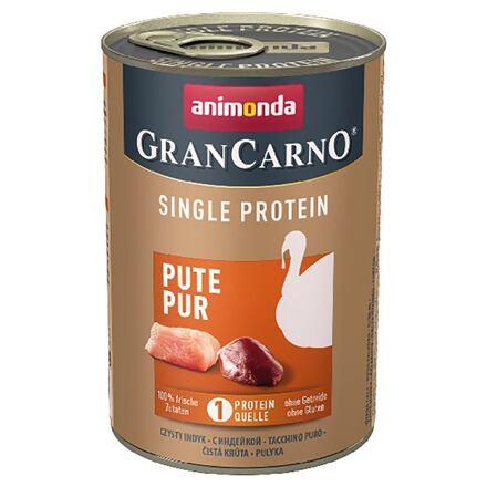 ANIMONDA  GRANCARNO Single Protein 400 g čisté krůtí, konzerva pro psy