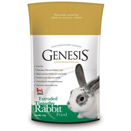 GENESIS TIMOTHY RABBIT FOOD 5 kg granulované k.pro králíky