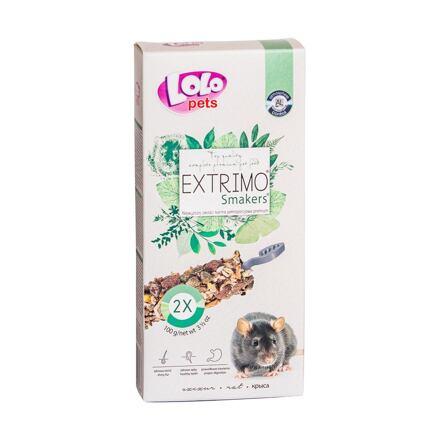 LOLO EXTRIMO SMAKERS tyčinky pro potkany 2ks/100 g