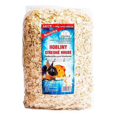 JLP Hoblinová podestýlka středně hrubá 1 kg