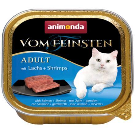 ANIMONDA paštika ADULT - losos,garnát pro kočky 100g