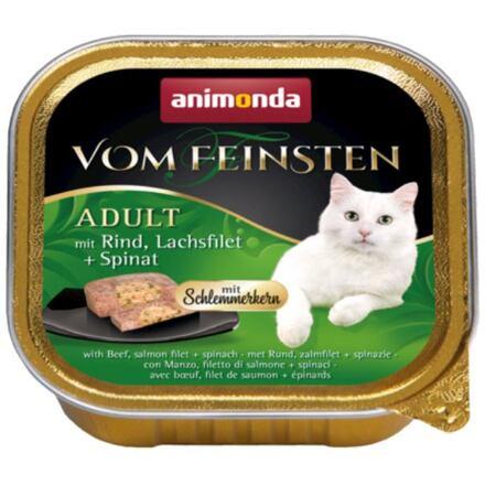 Animonda V.Feinsten CORE hovězí, losos filet + špenát pro kočky 100g