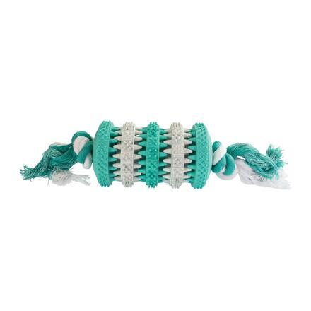 Dentální péče mátový Roller s bavlněným lanem 26cm HipHop