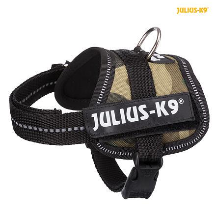 Julius-K9 silový postroj Baby 1/XS 30-40 cm, -  maskáč