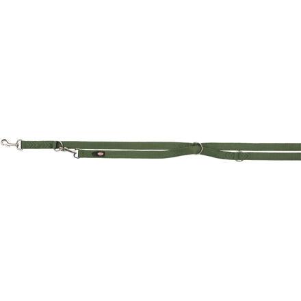 TRIXIE Vodítko PREMIUM prodlužovací 2m/10mm (XS),  - les