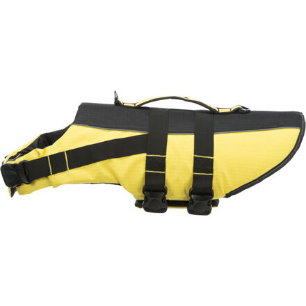 Life Vest plavací vesta pro psa XS 28 cm: 30-50 cm, do 12kg žluto/černá