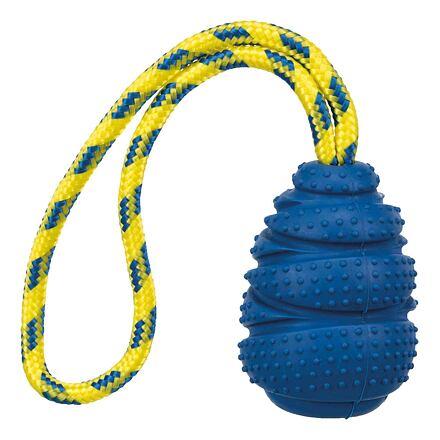 TRIXIE SPORTING tvrdý JUMPER na laně, přírodní guma 9 cm/30 cm