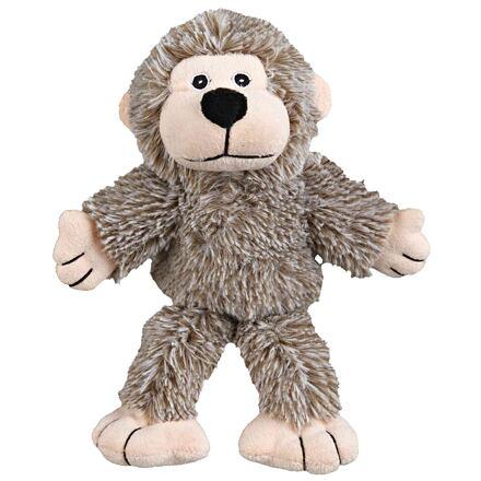Trixie Plyšová opička se zvukem, šedá 24 cm