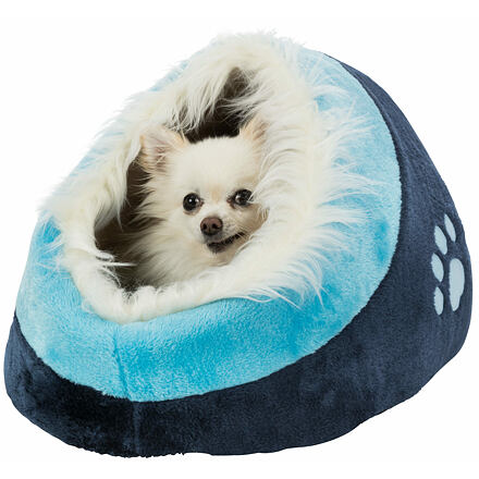 Trixie Pelíšek koule MINOU č.1  35x26x41cm,  - tmavě modrá/modrá