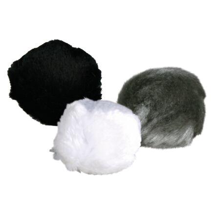 Kožešinová kulička s catnipem