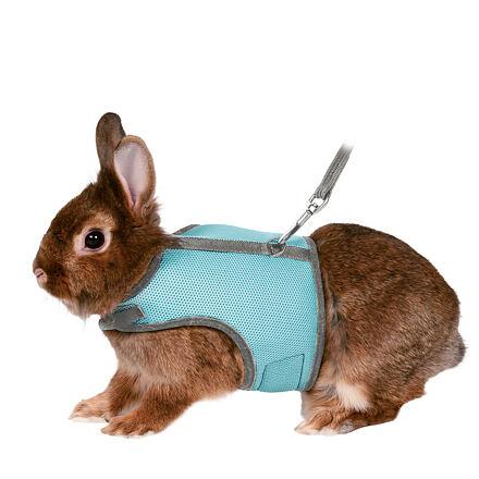 TRIXIE Postroj VESTA s vodítkem pro králíka TRIXIE