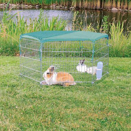 Trixie Síť se sluneční ochranou na pozinkovanou ohrádku 6250/6253 pro králíčka